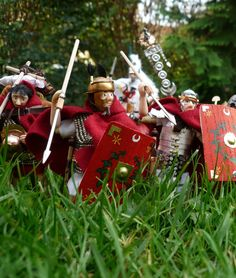 Roman legionaries by JannisKernert on DeviantArt Roman, Deviantart, Christmas Ornaments, Holiday Decor, Home Decor, Homemade Home Decor, Christmas Jewelry, Christmas Ornament, Interior Design