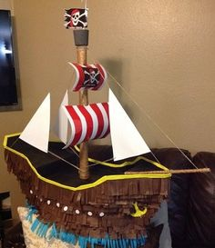 Pirate Birthday, Pirate Theme, Boy Birthday Parties, Holidays With Kids, Holidays And Events, Pirate Party Decorations, Birthday Souvenir, Happy Birthday Jesus, Ideas Para Fiestas
