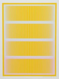 Coming Up in our July Modern & Contemporary Art Auction (Wednesday, 7/27/16, 11 am EST)-- Richard Anuszkiewicz, Sequential II from the Sequential Portfolio, Serigraph -- Opening Bid: $450