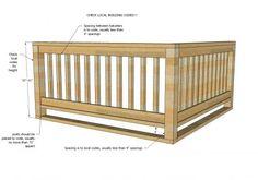 DIY wooden handrail