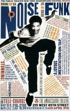 Posters by Paula Scher (1995)