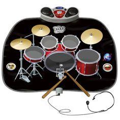 Kids Drum Kit Playmat Large Folding Children's Musical 8 Pc Toy Party Game Gift  #SmartDealsMarket