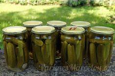 Recepty na výrobu domácích zavařenin | Vaříme s Marcelou.cz - Strana 3 Korn, Pickles, Cucumber, Pickle, Zucchini, Grains, Pickling
