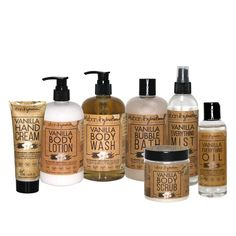 Urban Hydration: Natural Hair & Skin Care Products Vanilla Fruit, Vanilla Oil, Cracked Skin, Olive Fruit, Sweet Almond Oil, Hand Cream, Body Scrub, Body Lotion, 1 Piece