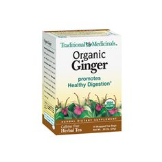 Traditional Medicinals Organic Ginger Herbal Tea - great for morning sickness