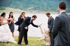 Best wedding photo ever.