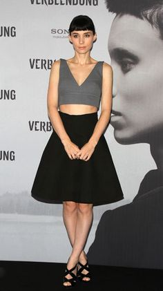 Rooney Mara. Love her outfit.