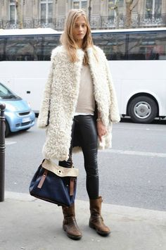 How to Chic: SHEARLING COAT