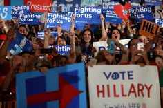 """NEWS 30.5.2016....Hillary Clinton Supporters Aren't Just Voting for Her """"Because She's a Woman"""""""