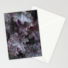 Purple Leaves Stationery Cards from FloraInspiro SHOP http://shop.florainspiro.com photo by Emelie Ekborg
