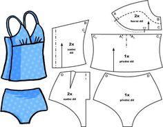 2 piece lingerie set for Barbie: