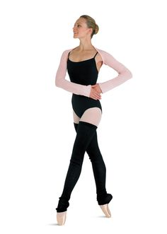 Bloch Lydia Long Sleeve Knit Shrug- want to find a way to knit this!