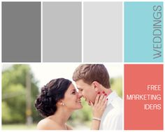 Free Wedding Marketing Ideas - #photography www.colorvaleactions.com