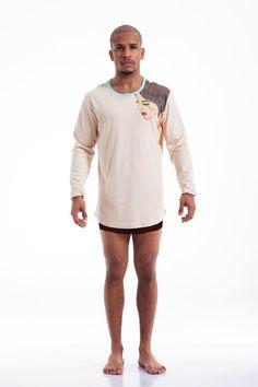 New Pima Cotton Tear Drop Shirt by PLUSH