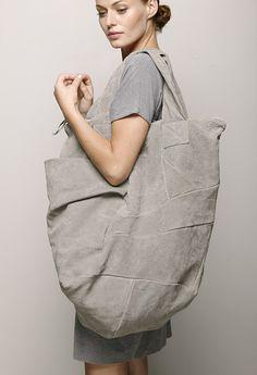 grijs - tote #bag