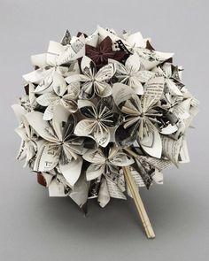 paper bouquet diy