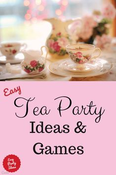 A Tea Party is every little girl's birthday wish come true! These pretty ideas will make it a perfect par A Tea Party is every little girl's birthday wish come true! These pretty ideas will make it a perfect party! Tea Party Activities, Tea Party Crafts, Tea Party Games, Tea Party Theme, Tea Party Decorations, Tea Party Birthday, 5th Birthday, Tea Party Menu, Girls Tea Party