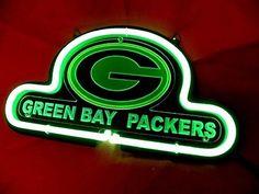 "Brand New NFL Green Bay Packers Football 3D Beer Bar Pub Neon Light Sign 10""x8"" [High Quality] #ecrater"