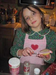 cookies...MY GRANDDAUGHTER ABBY
