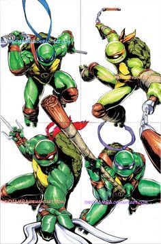 Teenage Mutant Ninja Turtles by =theCHAMBA on deviantART