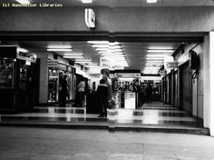 Take a trip back in time to the days when Manchester had an amazing underground market - Manchester Evening News Manchester City Centre, Manchester England, Old M, Pall Mall, Make Way, Salford, Back In Time, British History