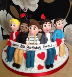 One direction cake  Cake by ASH (  Alexa would love this cake !