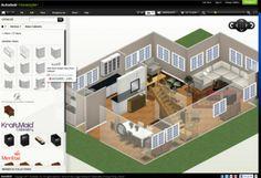 """Un fantastico programma gratuito per """"progettare"""" la propria casa dei sogni..o solo provare a ristrutturare il proprio appartamentino :)"""