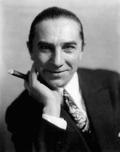 Bela Lugosi, hungarian actor, a.k.a Hollywood´s first Count Dracula
