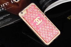 Best iPhone 6 6S Chanel Soft Cases Best Buy Pink