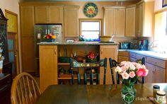 Rockford Maple Caramel Shaker Kitchen Cabinets from CliqStudios.com