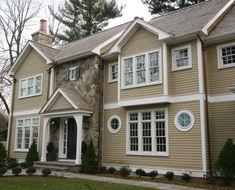 Дизайн фасада загородного дома: лучшие идеи для внешней ...
