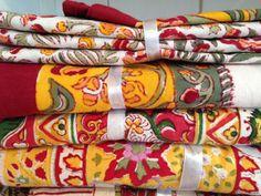 Beautiful bright linens by Petal Pushings