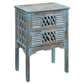 Found it at Wayfair - End Table in Bali Blue