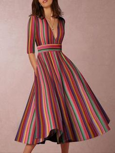 Imágenes 1549 2019 Mejores Dress En Vestidos Rayas De Fringe 5FOqwF