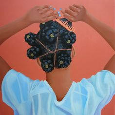 Jessica Spence is a Jamaican-American artist whose work is inspired by black female identity. She's currently based in New York and works predominantly in portraiture.