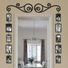 Door Framed with Pictures. Love, Love, Love This! Bed Bath  Beyond