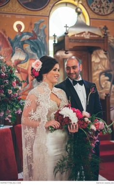Organic Opulence: Toni & Mark's Wedding | Real weddings | The Pretty Blog