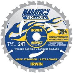 Irwin Marathon WeldTec Circular Saw Blade