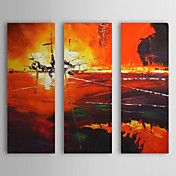 Hand Painted Oil Painting Abstract With Stret... – USD $ 89.99