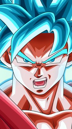 Goku super saiyan blue wallpaper