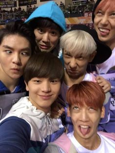 2015 Idol Star Athletics Championship EXO Suho, Boyfriend Youngmin, Kwangmin,Minwoo, Teen Top Ricky & BTOB Sungjae