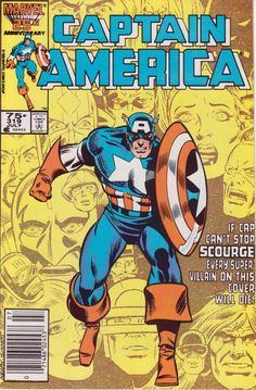 Cover for Captain America (Marvel, 1968 series) #319 [Direct Edition]