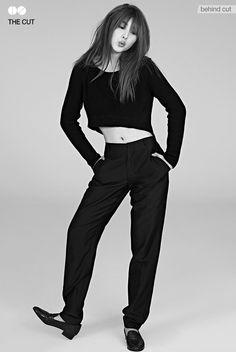 4Minute's Sohyun // 1st Look. I LOVE THIS SO MUCH! WERK GURL WERK!