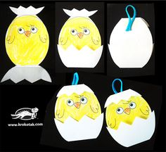 Baby Chick - Easter craft