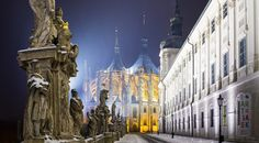 The silver town of Kutna Hora is awaiting you just 70 kilometres from Prague