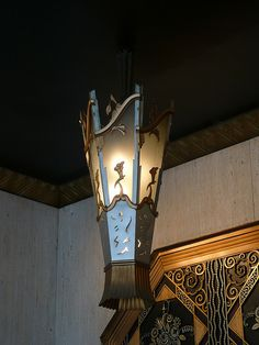 Cincinnati, OH Carew Tower Netherland Plaza light fixture