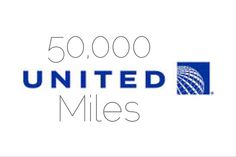 HOT Credit Card Offer: 50,000 #United Miles + $50