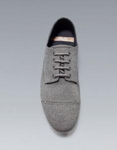BLUCHER SLIM TEJIDO - Zapatos - Hombre - ZARA México
