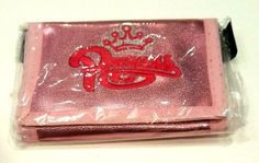 New Womens Pink Fashion Princess Trifold Wallet Secure with velcro Lovely Kids #Princesswallet #Trifold