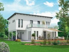 Musterhaus modern flachdach  Musterhaus CityLife - Haus 700 • Einfamilienhaus von WeberHaus ...